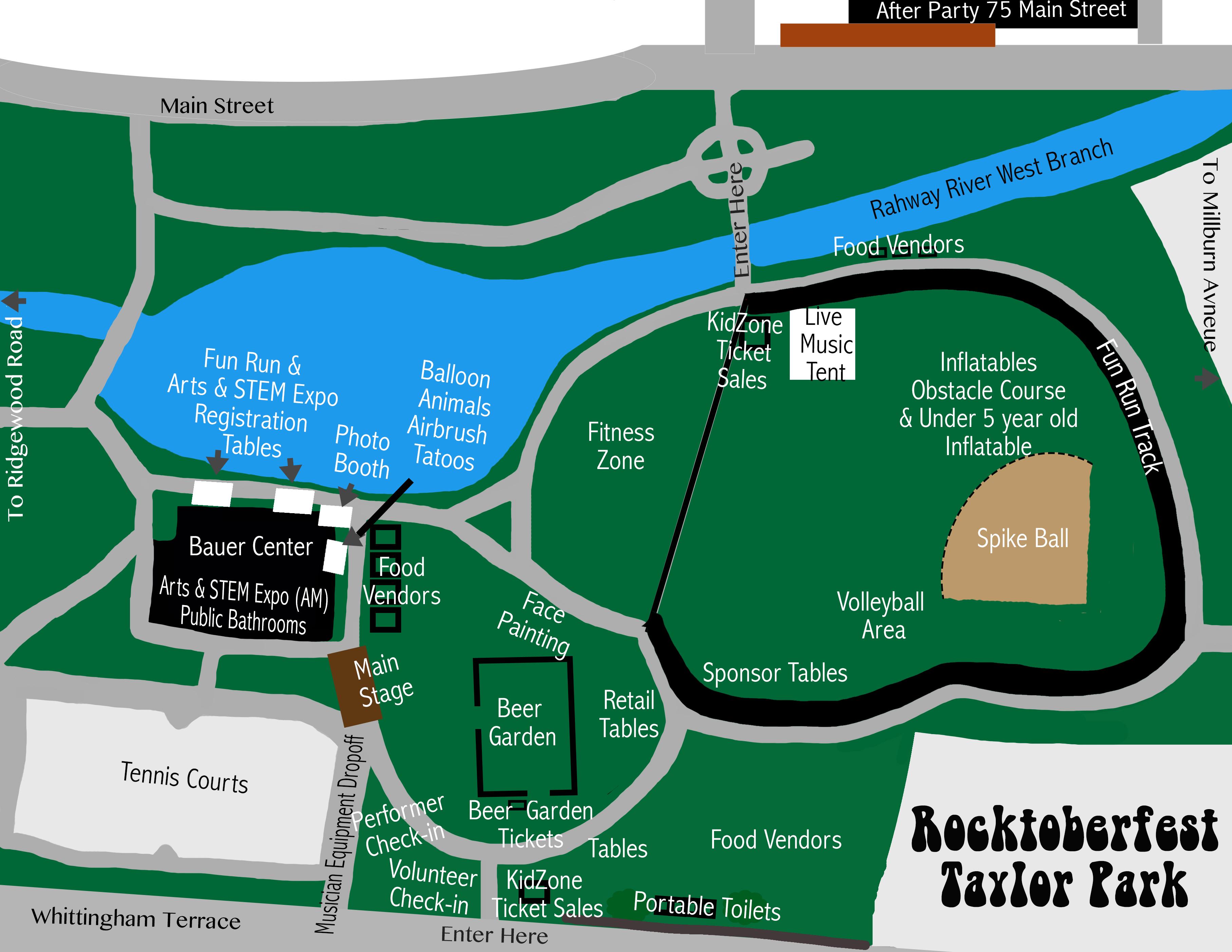 Rocktoberfest Map