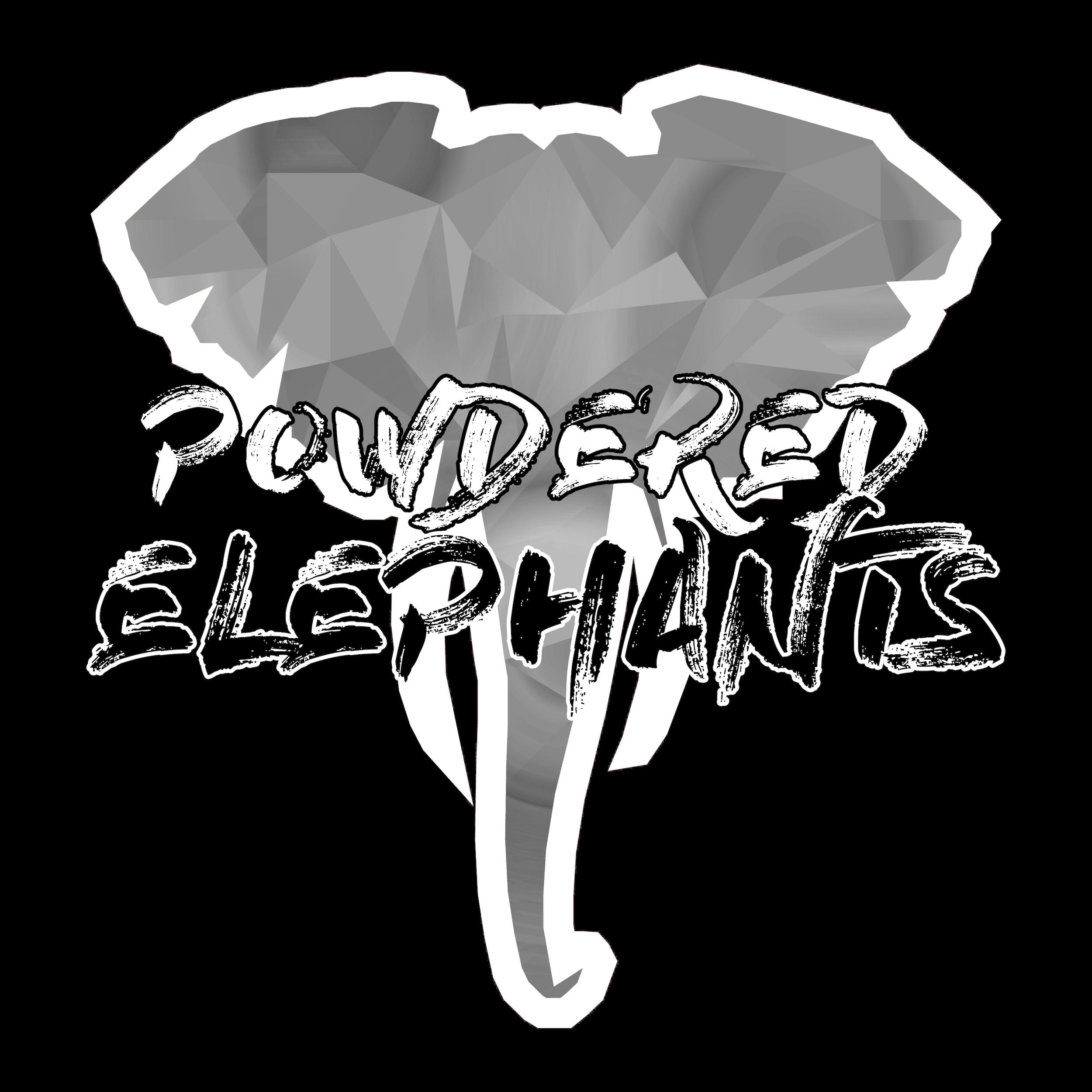Powdered Elephants Logo